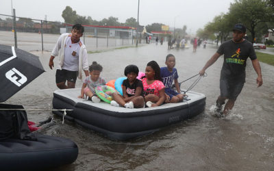 Religious Organizations Respond to Flooding in Texas After Hurricane Harvey