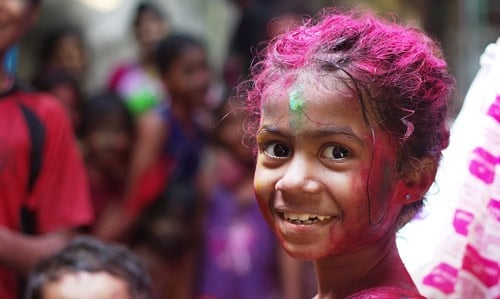 A Holi Holiday: Clearing the past, coloring the present