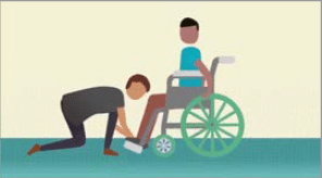 CHURCH OF JESUS CHRIST OF LATTER-DAY SAINTS: Providing Wheelchairs to Needy