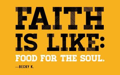 Faith is Like Summer Rain and Roller Coasters