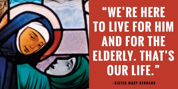 The Little Sisters of the Poor give a home and hope to the elderly