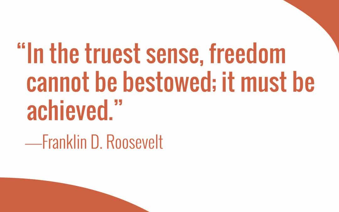 Faith in Freedom