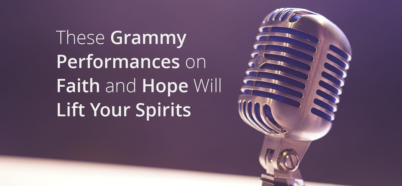 Grammy Performance on Faith and Hope