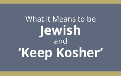 What it Means to be Jewish and 'Keep Kosher'