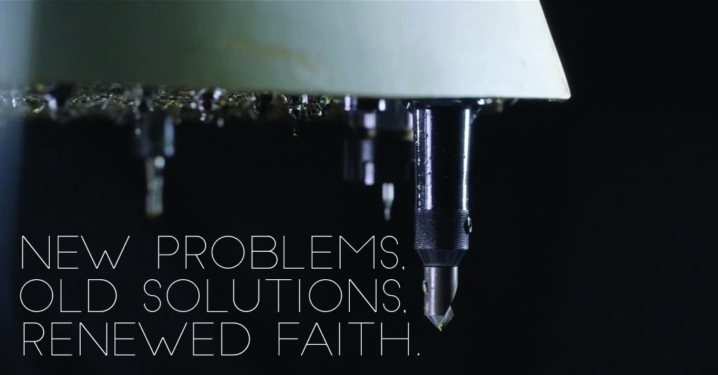 New tech, same faith. Finding solutions in life can be as simple as upgrading your faith