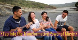 Tap into the transformative power of music